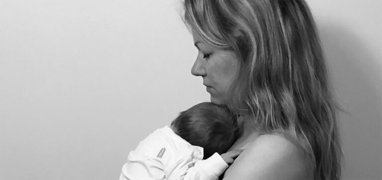 Kristel met dochter Vauk