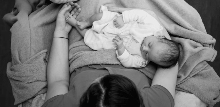 Huilen baby kalmeren